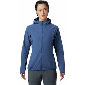 Mountain Hardwear Chockstone Felpa zip intera Donna, better blue